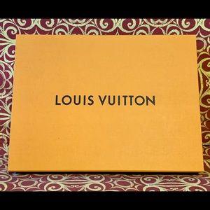 Authentic Empty Louis Vuitton Magnetic Box, Orange